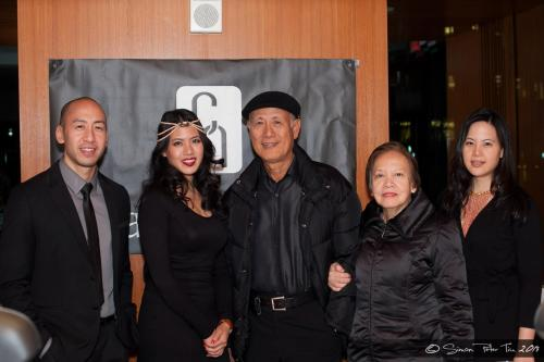 Caviar Noir trunkshow family