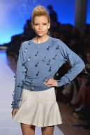 Looks from Le Look Smurfette runway show designed and art directed by Samia+Lois (2)