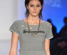Looks from Le Look Smurfette runway show designed and art directed by Samia+Lois (3)