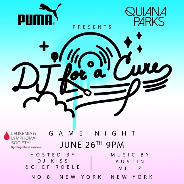 DJ For a Cure Flyer